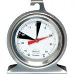 Brannan 50mm Stainless Steel Fridge/Freezer Thermometer