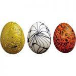 Major Brushes Assorted Polystyrene Eggs – Pack of 30