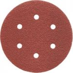 Milwaukee 4932 3715 93 Sanding Discs 6 Hole 150mm 120 Grit (Pack of 5)