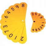 Ed Tech Teacher Number Fan (pack of 2 Fans)