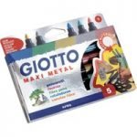 Giotto 524500 Décor Metal Pen – Pack of 24