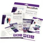 Snopake Swordfish A4 Laminating Pouches 250 micron (Pack of 100)