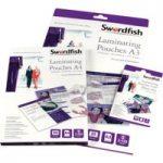 Snopake Swordfish A4 Laminating Pouches 150 micron (Pack of 100)
