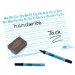 Show-me Handwriting A4 Dry Wipe Boards (Pack of 100)