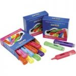 Swäsh Bulk Box 48 Premium Highlighters, 8 Assorted Cols.