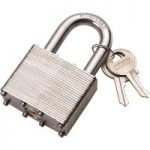 Draper 14020 40mm Laminated Steel Padlock
