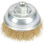 Draper 41441 75mm Wire Cup Brush with M10 Thread