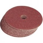 Draper 29083 100mm 60grit Aluminium Oxide Sanding Discs Pack of 10