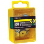 CK Tools T3824 18 Washers 3/16″ Box Of 100