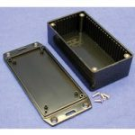 Hammond 1591DSFLBK Multipurpose GPABS Enclosure Flanged Lid 150 x …