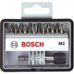 Bosch 2607002564 Extra Hard Phillips + Pozi Screwdriver Bit Set 12+1
