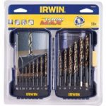 Irwin 10502233 Turbomax HSS Drill Bit Set 1.0-10.0mm 19 Pieces