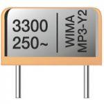 Wima MPY20W1220FA00MS 2200pF ±20% 250 VAC Metallized Paper Capacit…