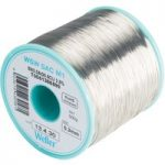 Weller T0051388699 WSW SAC M1 96.5/3/0.5 Solder Wire 1.0mm 250g