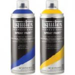 Liquitex Professional Spray Paint Can 400ml – Titanium White