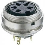 Lumberg KGV 50 5 Pin DIN Female Chassis Socket IEC 60130-9 Rear Pa…