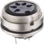 Lumberg 0307 03 3 Pin DIN Female Chassis Socket IEC 60130-9 Rear P…