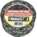 Everbuild 2BUILDBK75 Builders PVC Tape Black 75mm x 33m
