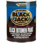 Everbuild 90105 Black Bitumen Paint 5 Litre