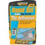 Everbuild RSPLUS 711 Rapid Set Flexiplus Tile Adhesive 20kg