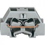 WAGO 264-311 2 Conductor Snap In Terminal Block Grey