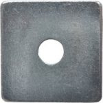 ForgeFix 10SQPL5012 Square Plate Washer ZP 50 x 50 x 12mm Bag 10