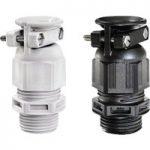 Wiska 10060725 ESKVZ 25 Light Grey Plastic Cable Gland, External S…