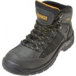 DeWalt Mitre Waterproof Boots Steel Toe & Mid Sole Black UK 6 Euro 39