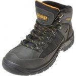 DeWalt Mitre Waterproof Boots Steel Toe & Mid Sole Black UK 6 Euro 39