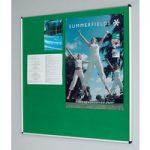 Metroplan Shield® Deluxe Noticeboards 1200x1800mm Aluminium Frame