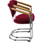 Metroplan Lena Cantilever Stacking Conference Chairs 830x540x555mm…