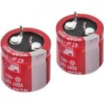 Würth AIG5 47µF 20% 450VDC Snap-In Alum. Electrolytic Capacitor 22×31
