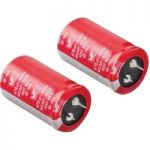 Würth AIG8 100µF 20% 450VDC Snap-In Alum. Electrolytic Capacitor 22×36