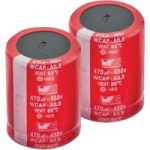Würth AIL8 47µF 20% 450VDC Snap-In Alum. Electrolytic Capacitor 22×21