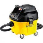 DeWalt DWV901L Wet & Dry Dust Extractor 30 Litre 1400 Watt 240 Volt