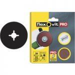 Flexovit 63642527561 Aluminium Oxide Fibre Discs 115mm Medium 50G …