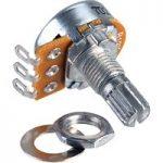 Taiwan Alpha RV16AF 1M Linear 16mm Metal Case Solder Lug Potentiometer