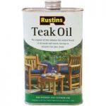 Rustins TEAK5000 Teak Oil 5 Litre