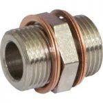 Norgren 160202818 Metric/ISO G Nipple Adaptor G1/4 to G1/8 Threads…