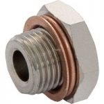 Norgren 160050048 ISO G Plug With Flange G1/2 Thread