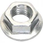 Sealey FN6 Flange Nut Serrated M6 Zinc DIN 6923 Pack of 100