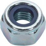 Sealey NLN6 Nylon Lock Nut M6 Zinc DIN 982 Pack of 100