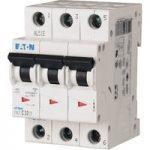 EATON FAZ-C50/3 Miniature Circuit Breaker 50A C-type TP 15kA 278878