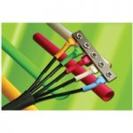 Alpha Wire F2211/16 BK005 2:1 Heat Shrink Tubing Black 0.063″ (100…