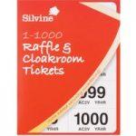 Silvine Raffle Tickets 1-1000