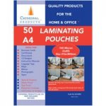 Cathedral Products A416050 A4 Laminating Pouches 150 micron Pack 50