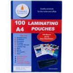 Cathedral Products A4160100 A4 Laminating Pouches 150 micron Pack 100