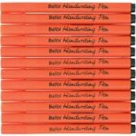 Berol Handwriting Pen Stick Dark Blue Class Pack 200