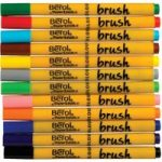 Berol Colour Brush Pens (Pack of 12)