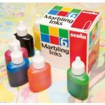 Scola MI25/6/A Marbling Ink Standard 6 Assorted